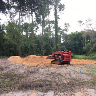 site preparation and grading in citrus springs fl